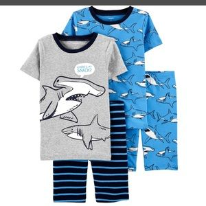Boys Shark Pajama Set
